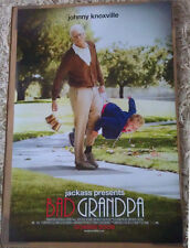 BAD GRANDPA MOVIE POSTER 2 Sided ORIGINAL 27x40 JOHNNY KNOXVILLE