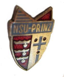 NSU Neckarsulm  Pin / Anstecker: NSU PRINZ - emaillirt  - Kult!