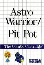 ## SEGA Master System - Astro Warrior & Pit Pot - TOP / MS Spiel ##