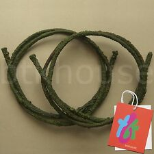 Lot of 2 x 6' Artificial Bendable Reptile Jungle Climber Vines (M)(DG2) btkhouse