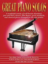 Great Piano Solos The Red Book Sheet Music Book NEW 014013289