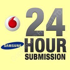 Samsung Galaxy S3 S4 J3 J5 Factory Unlock Code Service VODAFONE UK - PREMIUM