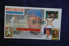 ML Baseball All-Star Larry Doby Stamp FDC Bullfrog Sc#4695 11728 Cooperstown