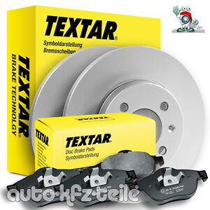 TEXTAR Bremsenkit 92106203 + 2355401 Audi A4 B6/B7 245mm HINTERACHSE VOLL 1KD