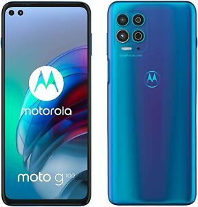 Motorola Moto G100 - 128GB - Iridescent Ocean (Unlocked) (Dual SIM)
