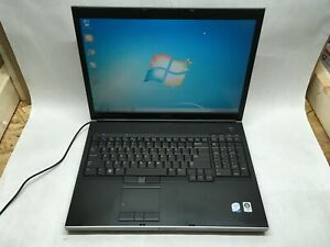 "HP Precision M6400 17"" Laptop Intel C2D 2.25GHz 8GB 320GB Windows 7 -RR"