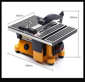 4 Inch Portable Multifunction Mini Table Saw Bench Saw DIY Wood Cutting Machine