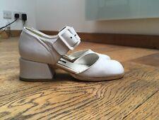 be608b6e00c89 White Vintage Heel Shoes for Women for sale | eBay
