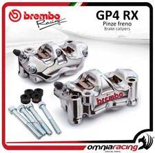 Coppia pinze freno Brembo GP4-RX + distanziali SUZUKI GSX R 600/750 2016 dsk320