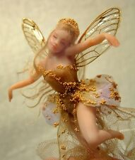 "LEAH TINY TEACUP FAIRY 3"" PRESS MOLD for polymer clay by Patricia Rose"