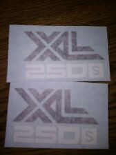 1978 HONDA XL 250S SIDECOVER DECALs