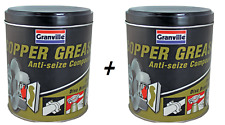 2 x Granville Car Brake Calipers Pads Discs Squeal Anti Seize Copper Grease 500g