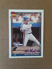 1991 Topps Gregg Jefferies card #30. New York Mets.