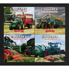 Grassmen TV Complete Collection 2016 DVDs 4 Disk New / Tractors/Farming/Machines