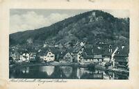Ansichtskarte Bad Liebenzell Burg und Stadtsee  (Nr.9190)