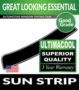 UC PRECUT SUN STRIP WINDOW TINTING TINT FILM FOR MERCEDES BENZ E43 SEDAN 17-18