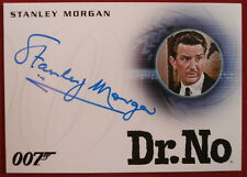 JAMES BOND - Dr. No - STANLEY MORGAN as Concierge - Autograph Card A272