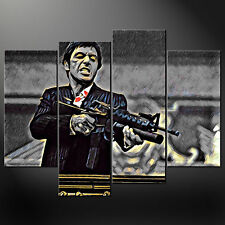 TONY MONTANA AL PACINO SCARFACE CANVAS PRINT PICTURE WALL ART VARIETY OF SIZES