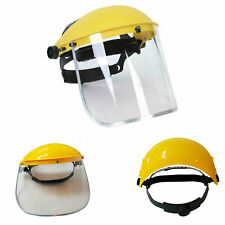 Premium HiVis Safety Clear Grinding Face Shield Screen Mask Visor Eye Protection