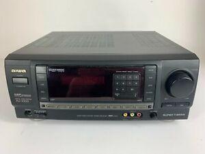 Aiwa AV-X100 Digital Audio System Surround Receiver No Remote TESTED