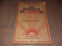 AU SERVICE DE L'AMOUR / Dr J.CARNOT