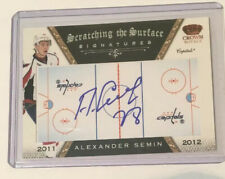 10-11 Panini Crown Royale Scratching The Surface Auto Alexander Semin Capitals
