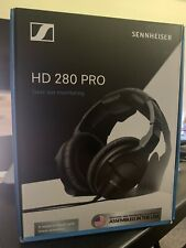 Sennheiser HD280PRO Headband Headphones - Black + FREE SHIPPING