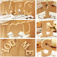 DIY Craft Custom Name Wooden Alphabet Letters   Design English Retro Vintage