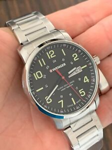 WENGER Attitude Heritage 'Swiss Made' Mens Watch (01.1541.107)