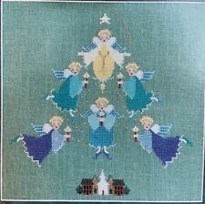Evergreen Angels Cross Stitch Graph by The Cross-Eyed Cricket