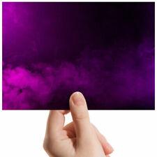 """Purple Smoke Effect Cool Art Small Photograph 6"""" x 4"""" Art Print Photo Gift #3749"""