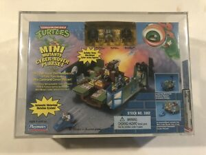 TMNT Mini Mutants Playset Cyber Rover 1995 AFA 80+ Rare New Sealed