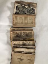 30 Antique Stereo View Mixed Military Theatre and MORE Lot A