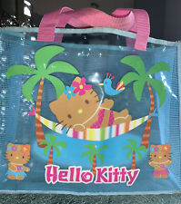 Vintage Sanrio Hello Kitty Reusable Shopping/ Beach Bag