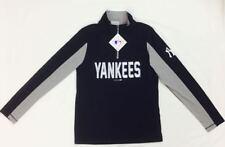 New - NY Yankee Genuine Merchandise MLB T-Shirt YOUTH Large (14-16) Navy & Grey