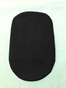 Stoma bag pouch cover for Ostomy Ileostomy Colostomy Black Free Post