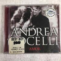ANDREA BOCELLI - AMOR - Italian Import - NEW SEALED