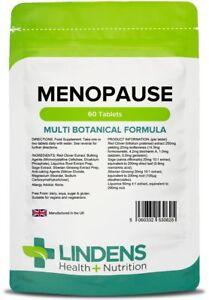 **MENOPAUSE Support Multi Botanical Formula 60 Tablets Red Clover, Sage Lindens*