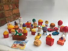 34 Vintage McDonalds Happy Meal Toys 80's & 90's Retro ! Rare !