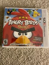 angry birds trilogy 3ds New Sealed