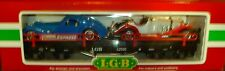 LGB G SCALE 42590 FLAT CAR W/ BUGATTI & MERCEDES CARS LOAD, NEW