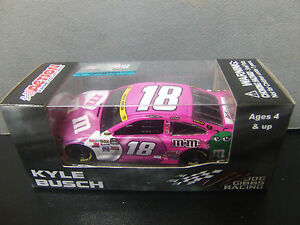 VERY RARE Kyle Busch 2015 M&M's PINK Camry 1/64 NASCAR 2016