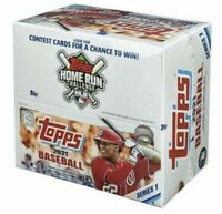 2021 Topps Series One 1 Baseball Factory Sealed Retail Box 24 Packs 384 Cards