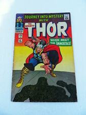 Journey Into Mystery (Thor) 125 . UK Variant . Marvel 1966 - FN +