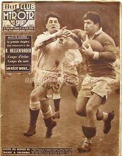 Le Miroir des Sports n°563 - 1956 - Rugby XV de France - R Hassenforder -