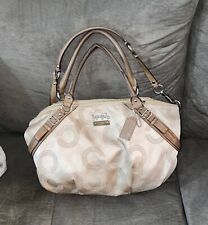 Original Coach Madison Handbag With Wallet Tan/Beige