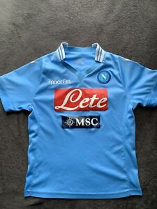 Napoli Blue Youth Soccer Jersey, Size M
