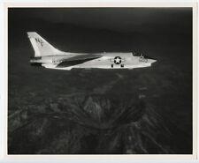 1970s 8x10 Original US Navy Photo of VFP-53 F-8 Crusader USS Midway CV-41