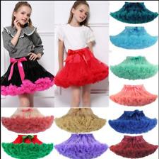 Kinder Mädchen Rock Lagenrock Lagenrock Tutu Tütü Tüllrock Petticoat Tanzkleid