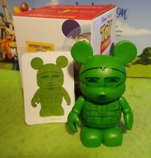 "Disney Vinylmation 3"" Park Set 1 Toy Story Army Man with Card and Box"